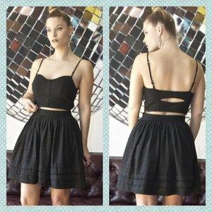 Allsaints Daina Zipper Dress